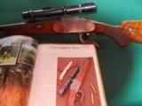 Ferlach (Franz Kettner) Ideal action 444 Marlin( proofed & restamped) true Droplock Stalking rifle