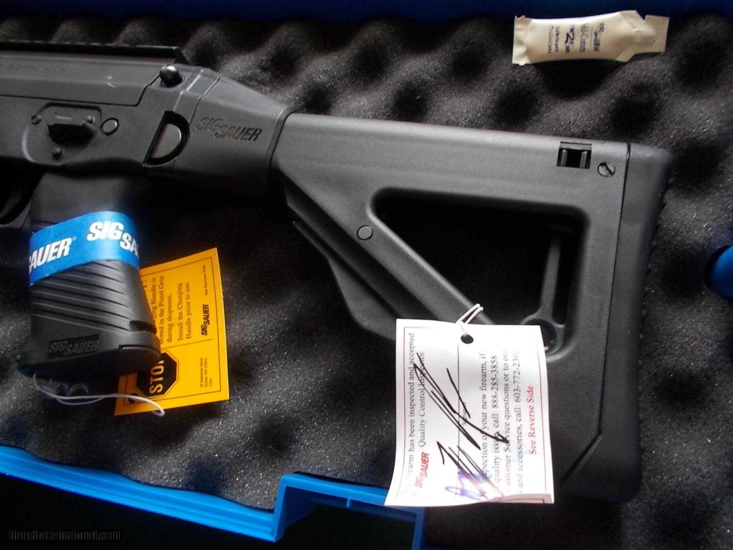 Sig Sauer Ar 522 Retractable Stock Halo Scope Picitilly Style Mounts