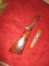 Winchester model 21 20 ga factoryflat knob stock & sphlinter forearm - 2 of 7