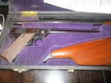 "Fiala Arms model ""1920"" similar to Colt Woodsman, US mfg. & originally mfg.in Ferlach, Austrian,resurected in U.S.A., 22lr. 3 bbl. set"