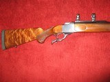 Ruger #1S Med. Sporter 300 Win. Mag. 200 yr. Anniversary 1976 # 130-20695 - 1 of 5