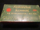Remington 44-40 .44Winchester 200 gr. softpoint