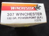 Winchester 307 Win. Super X 180 gr. Powerpoint S.P. - 2 of 2