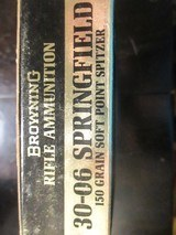 Browning Centerfire 30-06 Rifle Ammunition150 gr. ( SP) spitzer Softpoint - 2 of 3
