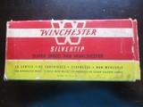 Winchester 348 Winchester Brass (19) original cases & box