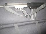 "Tactical Gwinn Arms Bushmaster ""Bullpup"" (discontinued 1979) semi-auto variable position Arm Pistol, .223 Nato,"