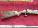 Mauser DSM-34 22 cal. single shot Pre-WW11 trainer