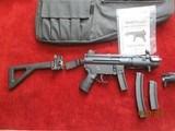Heckler & Koch SP-89 9mm law enforcement, military & sporting long pistol - 1 of 6