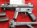 Heckler & Koch SP-89 9mm law enforcement, military & sporting long pistol - 4 of 6