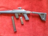 Tactical/Marlin TSC (Tactical Security Carbine) 9mm Open bolt last rd. fired