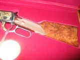 Winchester Model 94 Carbine ()ONLY() Ltd. Edition 44-40 (#627 of actual 872) Displayed in case - 4 of 14