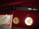 Winchester Model 94 Carbine ()ONLY() Ltd. Edition 44-40 (#627 of actual 872) Displayed in case - 8 of 14