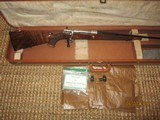 Browning Olympian 243 (1961) Mauser action (RARE)double signed by (2) renowned Custom Watrin & Dewill Browning Custom shop m