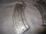 AK-47 22 lr. (German) mfg from 7.62 x 39 skeleton steel 30 rd. mags - 10 of 10