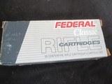 Federal Classic 222 Remington 50 gr. Hi-Shock SP
