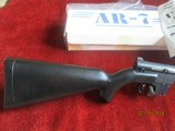 AR-7 Explorer 22 cal. 7 shot semi-auto sporting rifle (It Floates)