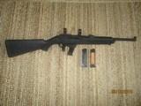Ruger PC4 Carbine 40 cal. semi-auto Black composite factory stock,