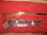 Winchester 94 30-30 #MC833 of 22magnum/30-30 set Hand engraved - silk screen