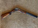 """Winchester 101 Shotgun O/U 12 Gauge 26"""" Barrel Skeet. Extensively engraved receiver, trigger guard, metal in excellent condition. - 10 of 11"""