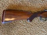 """Winchester 101 Shotgun O/U 12 Gauge 26"""" Barrel Skeet. Extensively engraved receiver, trigger guard, metal in excellent condition. - 8 of 11"""