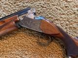 """Winchester 101 Shotgun O/U 12 Gauge 26"""" Barrel Skeet. Extensively engraved receiver, trigger guard, metal in excellent condition. - 9 of 11"""