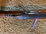 """Winchester 101 Shotgun O/U 12 Gauge 26"""" Barrel Skeet. Extensively engraved receiver, trigger guard, metal in excellent condition. - 6 of 11"""