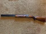 """Winchester 101 Shotgun O/U 12 Gauge 26"""" Barrel Skeet. Extensively engraved receiver, trigger guard, metal in excellent condition. - 1 of 11"""