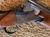 """Winchester 101 Shotgun O/U 12 Gauge 26"""" Barrel Skeet. Extensively engraved receiver, trigger guard, metal in excellent condition. - 7 of 11"""