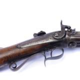 C.H. Beech. Three-barrel percussion revolving rifle