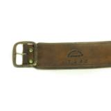 Cartridge belt by Brauer Brothers, St Louis. Mo.