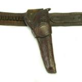 Holster and ammo belt by Goerge Lawrence