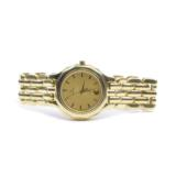 Solid 18kt watch band