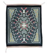 Navajo weaving - Germantown with center cross