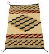 Navajo building blocks rug