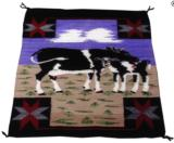 Navajo cow pictorial weaving