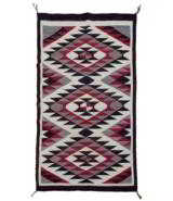 Navajo Ganada rug.