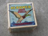 Vintage Hi Power 16 Ga. shotgunshells box of 25