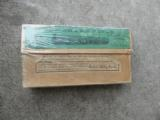 Vintage Box of 40-70 GRs Winchester Repeatings Arms Co cartridges for Sharps Rifle.