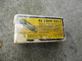 Vintage box of Western 41 long colt center fire Cartirdges - 3 of 3