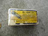 Vintage box of Western 41 long colt center fire Cartirdges - 3 of 3