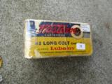 Vintage box of Western 41 long colt center fire Cartirdges - 2 of 3