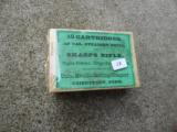 Vintage box of Sharps Rifle Cartridges .40 Cal.