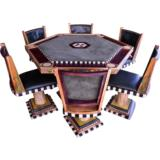 Artist-Commisioned Poker Table