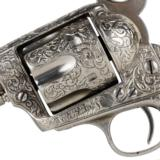 "Colt Custom scroll engraved ""SAA"" revolver; 45 Colt cal - FREE SHIPPING - 3 of 8"
