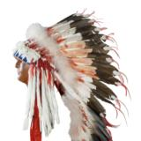 Sioux Style double Trailer Headdress - 1 of 5
