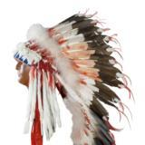 Sioux Style double Trailer Headdress