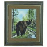 """""""Black Bear"""" Watercolor Painting by Greg Tener - 2 of 3"""