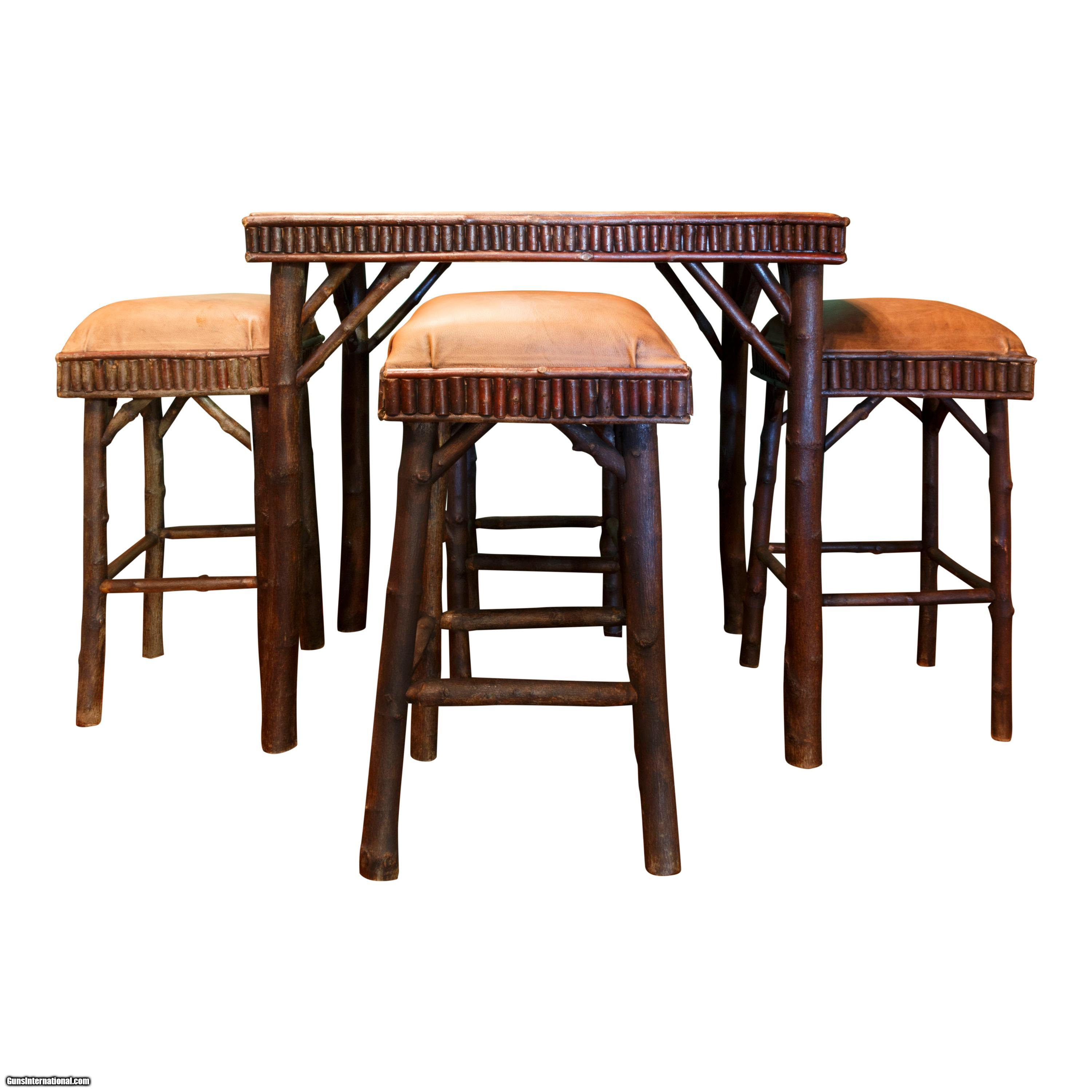 Adirondack Game Table and Chairs