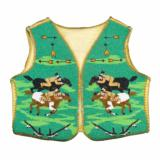 Nez Perce Beaded Boy's Vest