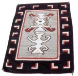 navajo with two kachinas
